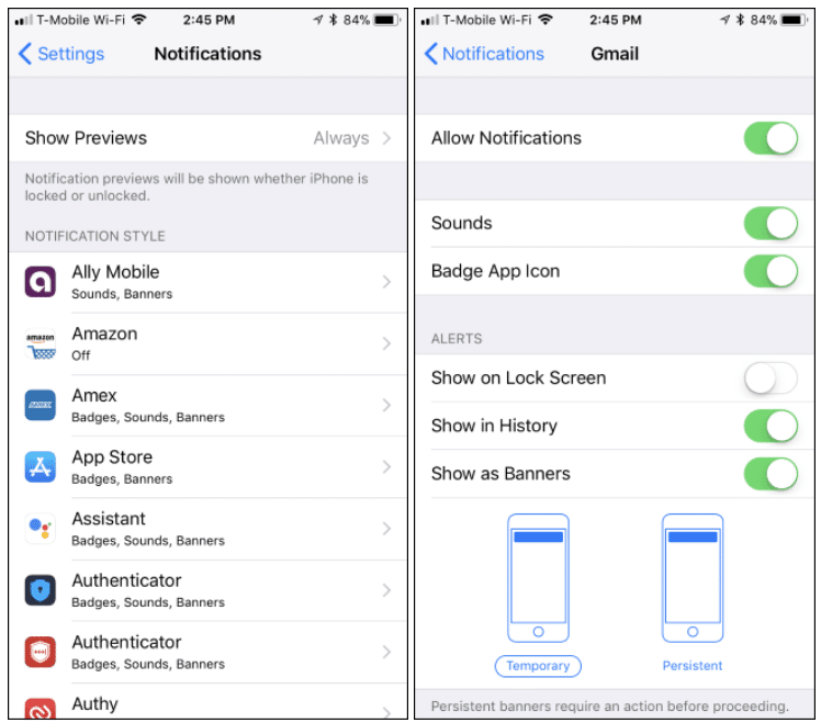 How to Hide Notifications on iPhone